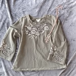 Style & CO Belle sleeve sweater size XL
